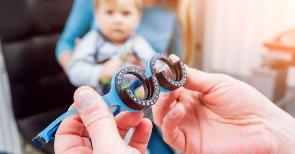 consulta de oftalmologia pediátrica